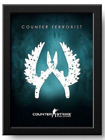 Poster Counter Terrorist CSGO