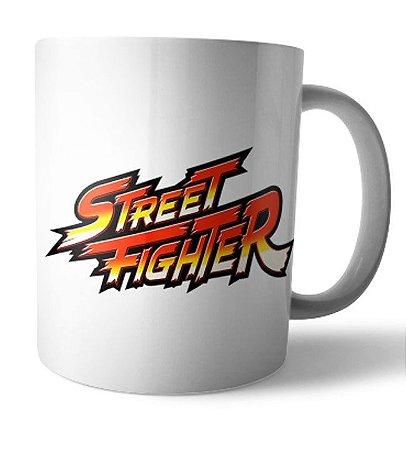 Caneca Street Fighter 8 bit