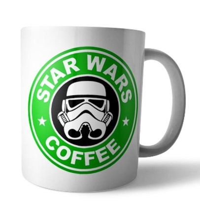 Caneca Star Wars Coffee