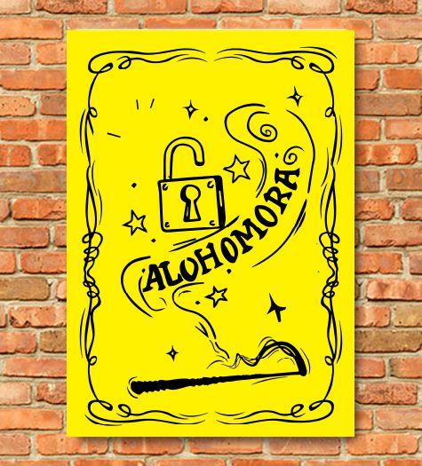 Placa Alohomora Harry Potter