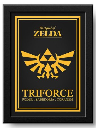 Pôster Triforce Zelda
