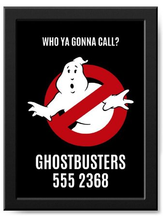 Pôster Ghostbusters