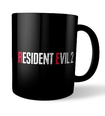 Caneca Resident Evil 2 Preta
