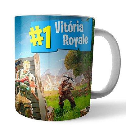 Caneca Vitória Royale Fortnite
