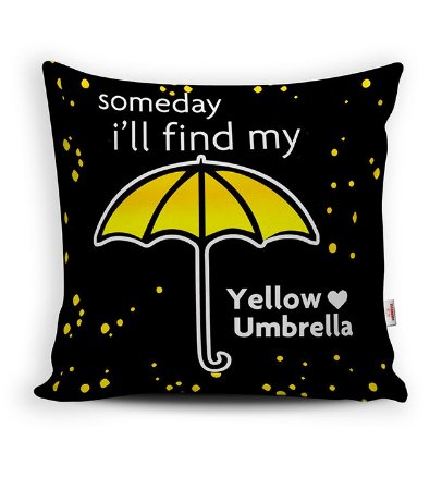 Almofada Yellow Umbrella