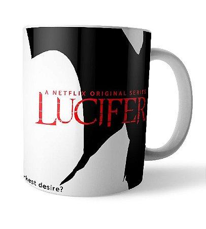 Caneca Hey Detective Lucifer