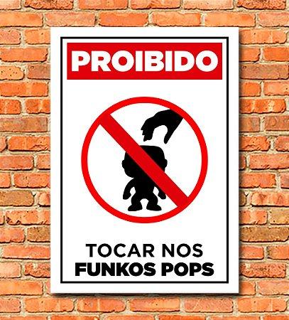 Placa Funko Pop