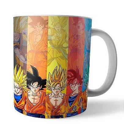 Caneca Evolução Goku