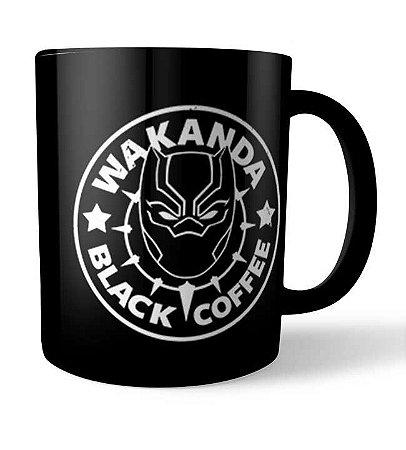 Caneca Wakanda Black Coffee