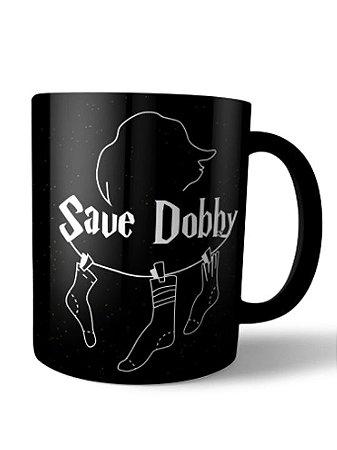 Caneca Save Dobby Harry Potter