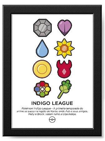 Pôster Indigo League
