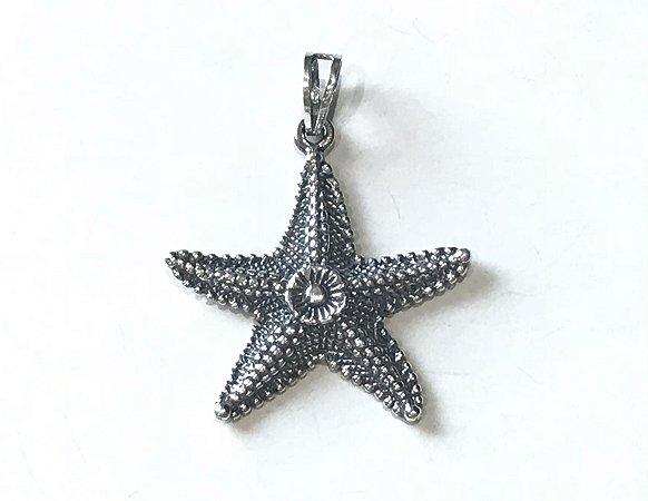 Colar com Pingente Estrela do Mar em Prata 925