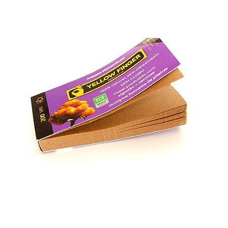 Piteira de Algodão Brown Yellow Finger