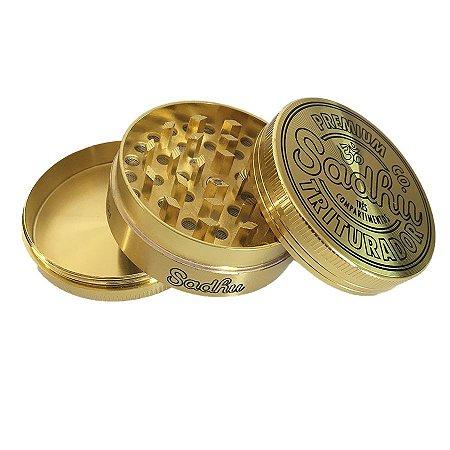 Triturador de Metal Dourado Sadhu