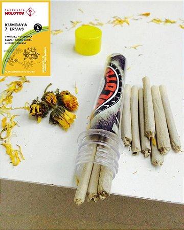 Kumbaya 7 Ervas sem Tabaco Enrolado MOLOTOV
