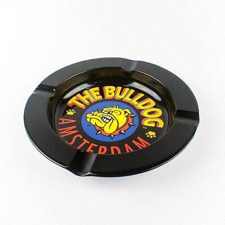 Cinzeiro de Metal Preto The Bulldog