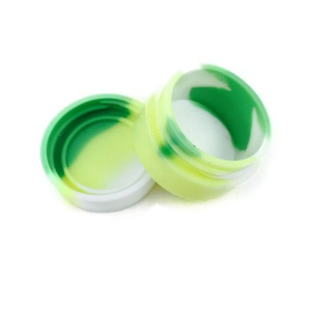 Silicone Oil Slick Verde, Amarelo e Branco