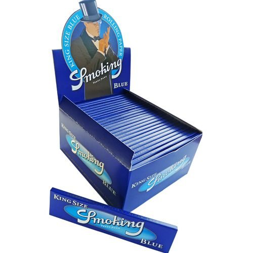 Caixa de Seda King Size Blue Smoking