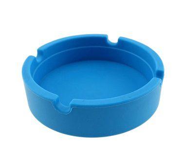 Cinzeiro de Silicone Azul