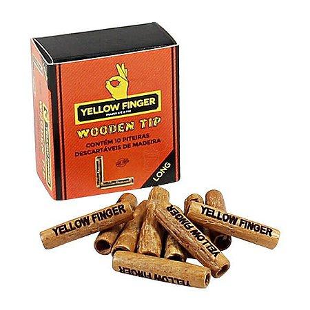 Piteira Wooden Long Yellow Finger