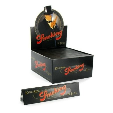 Caixa de Seda King Size Deluxe Smoking