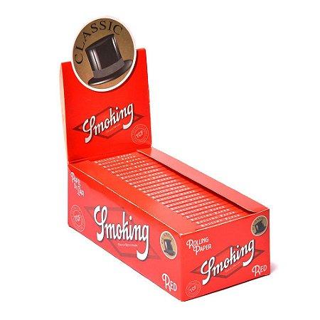 Caixa de Seda 1/4 Red Smoking