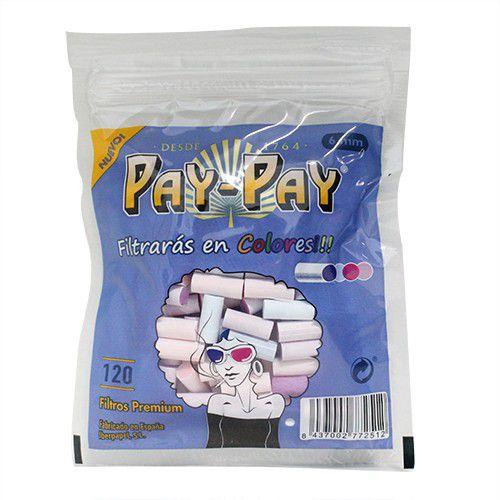 Filtro de Algodão Slim Colorido Pay-Pay