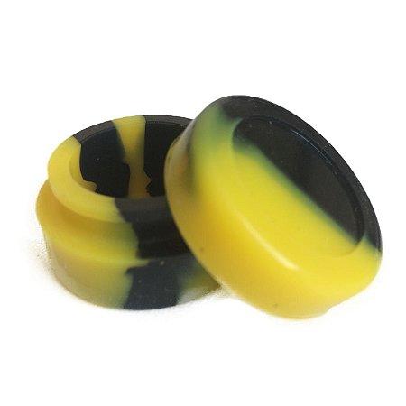 Silicone Oil Slick Preto e Amarelo