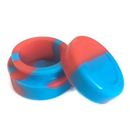 Silicone Oil Slick Azul e Vermelho