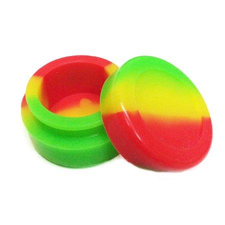 Silicone Oil Slick Verde, Amarelo e Vermelho