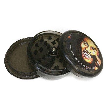 Triturador de Acrílico Bob Marley Preto