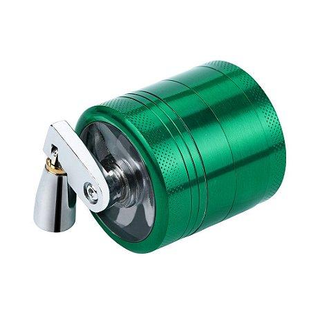 Triturador Metal com Manivela Verde