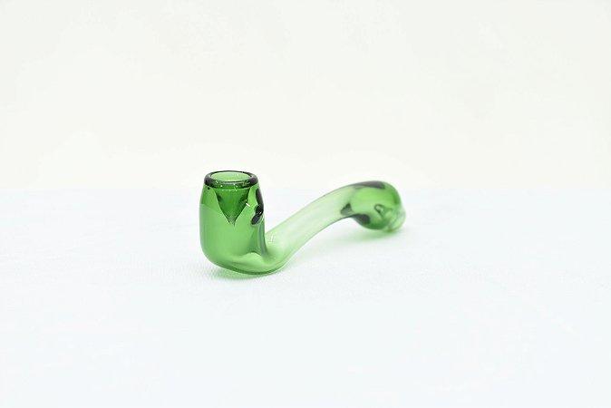 Pipe de Vidro Modelo Cachimbo Verde