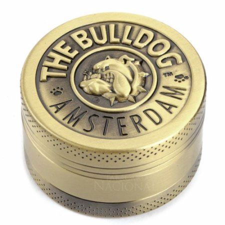 Triturador de Metal Ouro The Bulldog Amsterdam