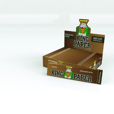 Seda King Size Unbleached King Paper