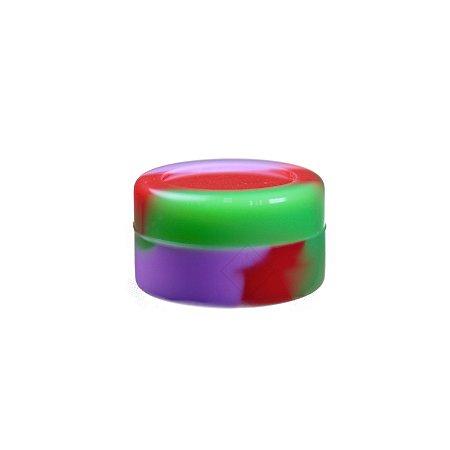 Silicone Oil Slick Verde, Vermelho e Rosa