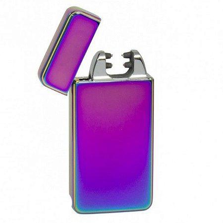 Isqueiro Eletrônico USB Rosa