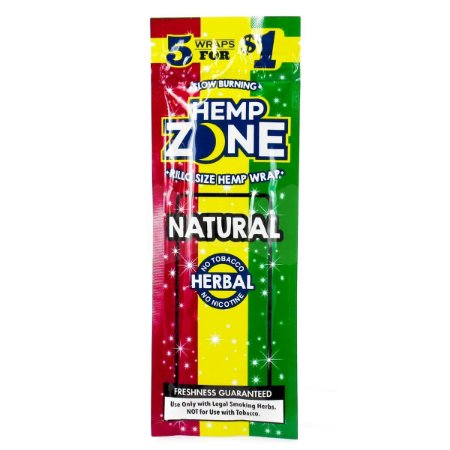 Blunt de Natural 5 un. Hemp Zone