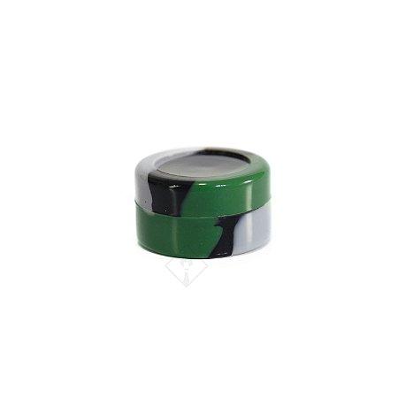 Silicone Oil Slick Preto, Verde e Cinza
