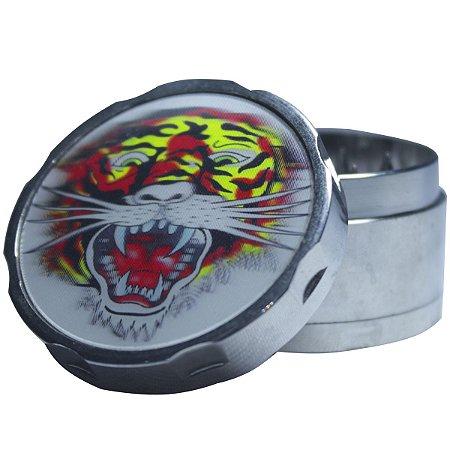 Triturador de Metal Holografico Tigre