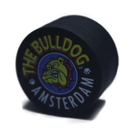 Triturador de Metal Pequeno Preto The Bulldog Amsterdam