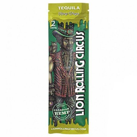 Blunt Tequila Lion Rolling Circus