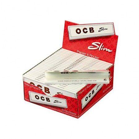 Caixa de Seda Slim White OCB