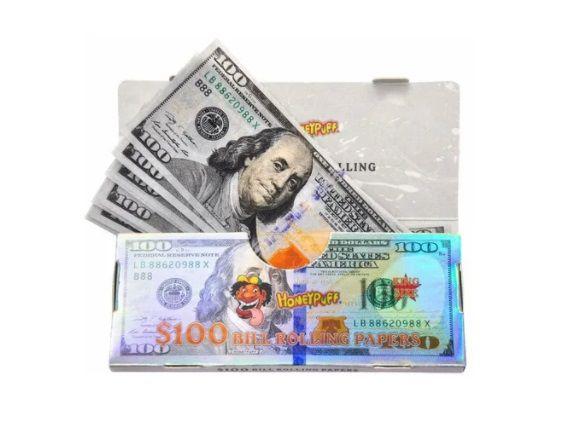Seda King Size Dólar com Piteira HoneyPuff