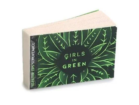 Piteira Longa Biodegradável Verde Girls in Green Bem Bolado