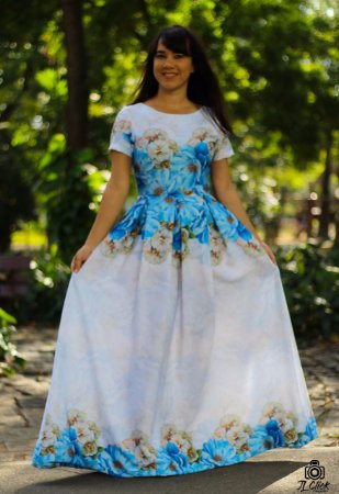 vestido Ludymilla