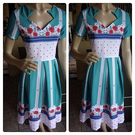 vestido Dália