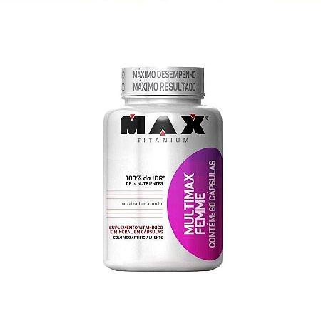 Multimax Femme - Max Titanium 60 Caps