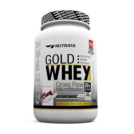 Gold Whey Nutrata 900g