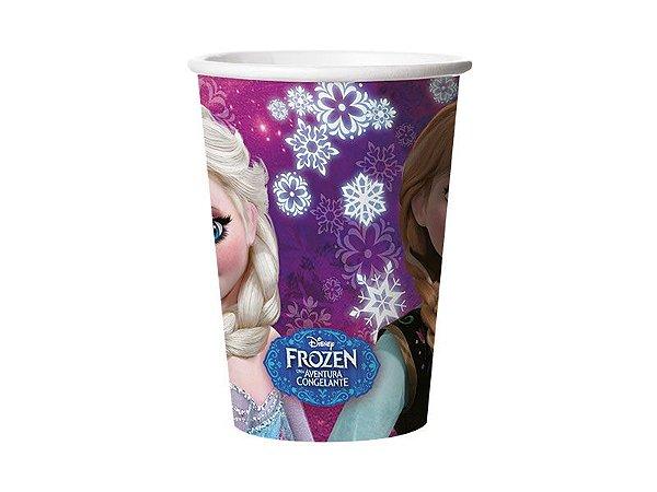 Copo descartável grande Frozen 330ml